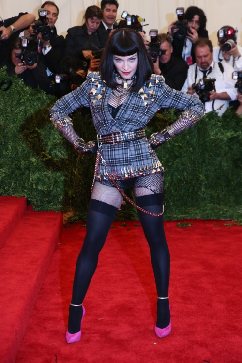 Madonna in Givenchy Haute Couture