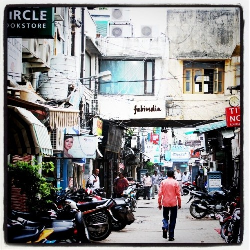 Golden Triangle: A visit to Khan Market in Delhi to shop with the locals.
