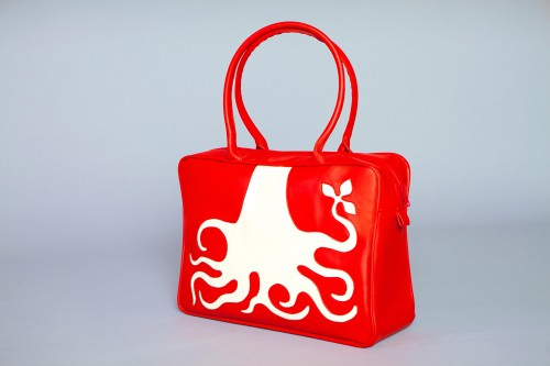 Cykochick Red Tote.