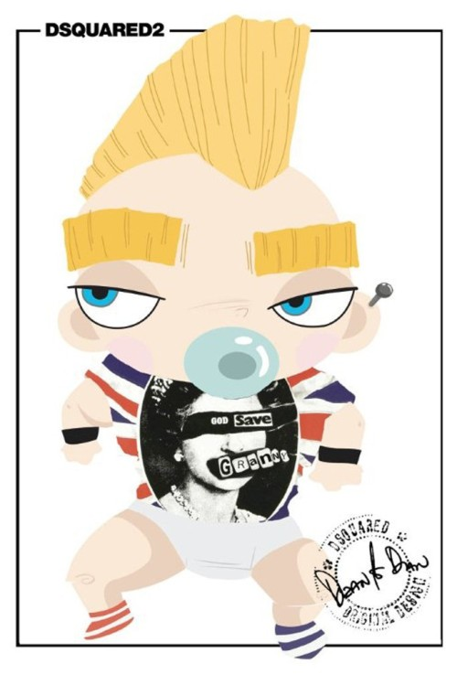 Dsquared2 - Punk Baby T-Shirt