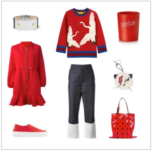 Red Sporty Weekend