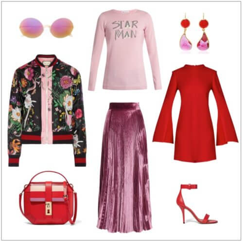 Red and Pink Glam