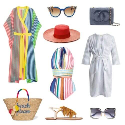 Summer color and stripes