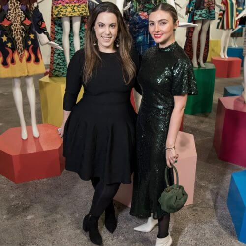 Mary Katrantzou and Nasiba Adilova