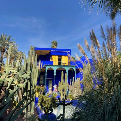 Jardin Majorelle, the home of Yves Saint Laurent