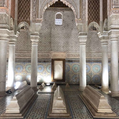 Saadien Tombs, Marrakech, Morocco