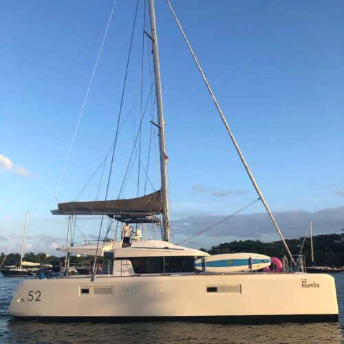 Rumba, 52ft Catamaran in the British Virgin Islands