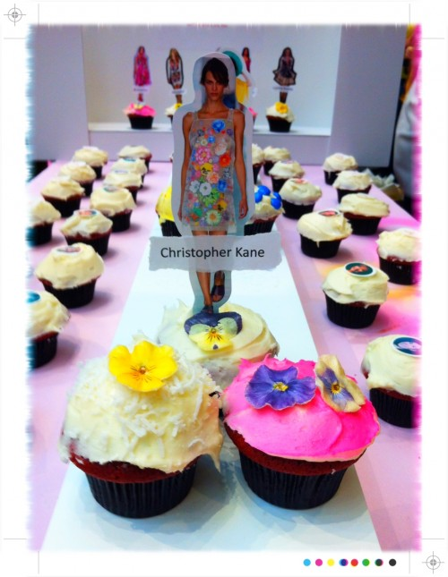 Christopher Kane inspired cupcakes